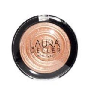 Laura Gellar Gilded Honey Highlighter Compact NEW